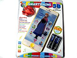 Art box Frozen 3D smartphone ultra clear/ multifunctional child phone/educational phone/ recording facilty