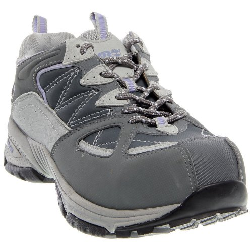 Timberland Women's Pro-Willow Trail ESD Hiker Alloy Safety Toe Grey/Lavender 8 W US