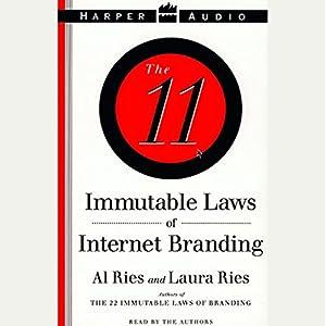 The 11 Immutable Laws of Internet Branding Audiobook