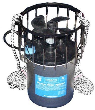 Kasco De-Icers- 3/4 Hp; 6.7 Amps; 120 Volts; 34 Thrust Pounds; 50' Power Cord # 3400D050