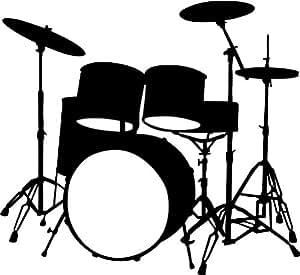 Musica strumenti musicali batteria arte parete parete ...
