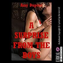A Surprise from the Boys: A Wife Swap Erotica Story (       UNABRIDGED) by Amy Dupont Narrated by Vivian Lee Fox