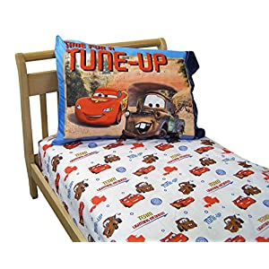 Disney Cars Go Team 95 2-Piece Toddler Sheet Set