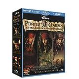 Pirates des Cara�bes - La trilogie : La mal�diction du Black Pearl + Le secret du coffre maudit + Jusqu'au bout du monde [Blu-ray]par Johnny Depp