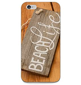 MiiCreations Back Cover for Apple Iphone 6,Beach Life