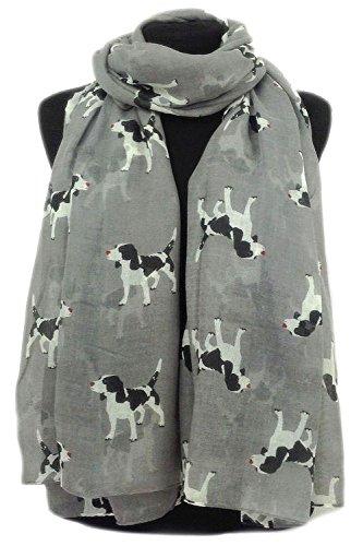 gfm-animal-print-scarf-spaniel-puppy-dog-dogs-pup-bh-85