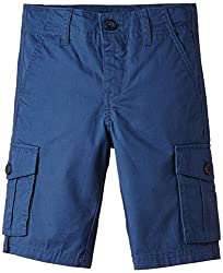 United Colors of Benetton Baby Boys Shorts (15P4CIX591L0G2170Y_Dark Slate blue_0Y)