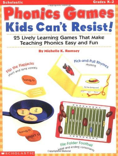 Phonics Games Kids Can't Resist! (Grades K-2)