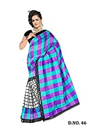 Kaizen International Bhagalpuri Silk Saree-46