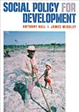 Social Policy for Development (0761967141) by Hall, Anthony