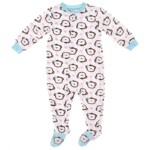 Monkey Pajamas For Kids front-1061207