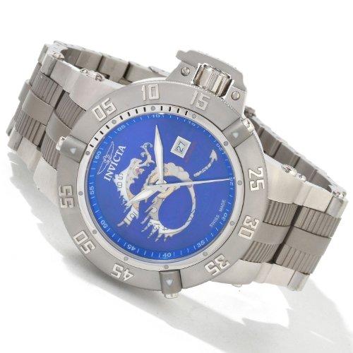 Invicta Mens Subaqua Noma III Dragon Swiss Automatic Exhibition Titanium    SS Watch 0409 0f5a53266a0