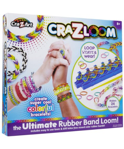 Cra-Z-Art Cra-Z-Loom Bracelet Maker Kit - 1