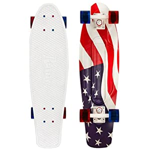 Buy Penny USA Flag Nickel Complete Skateboard, Red White Blue, 27 L by Penny