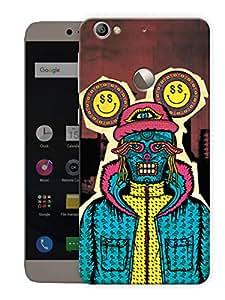 "Humor Gang Trippy Man Mouse Printed Designer Mobile Back Cover For ""Letv Le 1S"" (3D, Matte, Premium Quality Snap On Case)"
