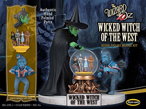 Polar Lights | The Wizard of Oz Wicked Witch of the West Resin | 1:8 Scale Figure Model Kit | Pre-Painted! (Star Trek Resin Models compare prices)