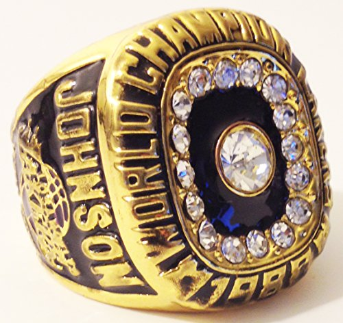 1988 Los Angeles Lakers Championship Ring Replica - Magic Johnson - Size 11 Shipped from USA Lakers Memorabilia литой диск replica fr lx 98 8 5x20 5x150 d110 2 et54 gmf