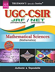 Truemans UGC CSIR-NET Mathematical Sciences - 2016
