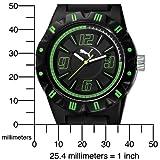 PUMA Men's PU910811001 Traction Black Dial Watch