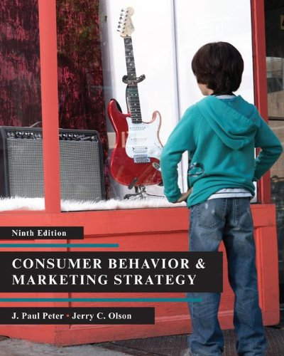 Consumer Behavior & Marketing  Strategy, Ninth Edition