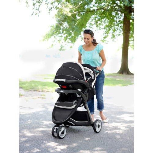 GRACO 葛莱 FastAction 折叠婴儿手推车+ 旅行车载提篮组合 $197.99(约¥2300)图片