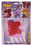 Hama Beads Pegboard Heart, Butterfly, Squirrel 4512