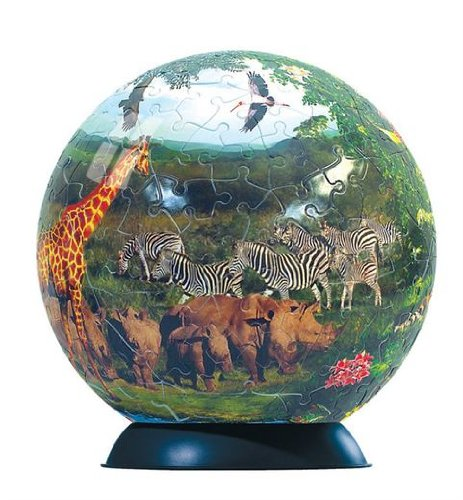 Cheap Fun Ravensburger 240 Piece Wildlife Puzzleball (B000W6VPME)