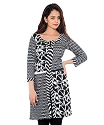 D-Nimes Women's Cotton Printed Kurti