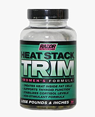 Women's Fat Burner :: Weight Loss Pills :: Trim Burn Body Fat :: Waist Trimmer :: Non Stimulant Formula :: 100% Money Back Guarantee :: 90 Capsules :: RAZOR NUTRITION LABS