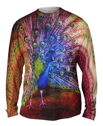 Amazon.com: AnimalShirtsUSA- Street Peacock -Tagless- Mens