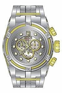Invicta Men's 16003BWB Jason Taylor Analog Display Swiss Quartz Silver Watch