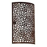 Almera 1-light Antique Brown Wall Sconce