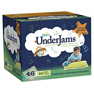Pampers Underjams Boys Diapers Big Pack Size 7 46 Count