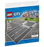 LEGO City Town Straight and Crossroad Plate 7280 Building Kit