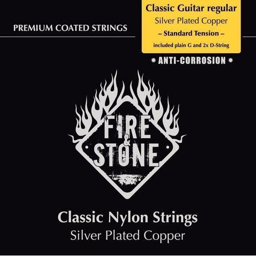 Fire & Stone Saiten Konzertgitarre Satz Klassikgitarre 4/4 Standard Tension