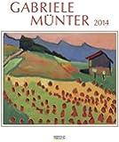 Gabriele Münter 2014. Kunst Art Kalender