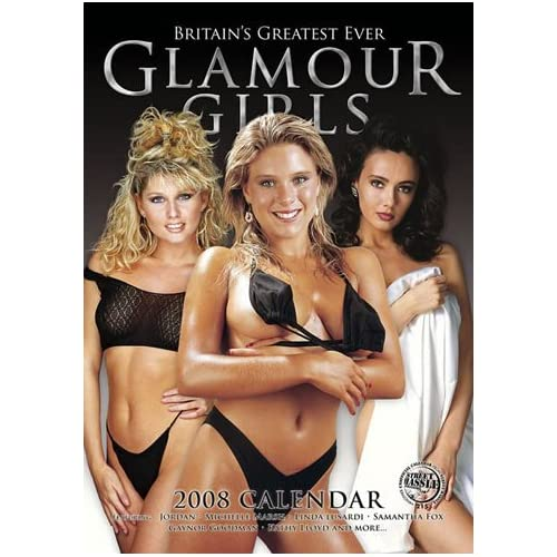 Sexy Glamour Girls 2008 Calendar - 2008 Wall Calendars