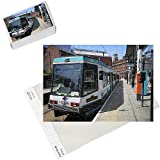 Photo Jigsaw Puzzle of Metrolink tram at tram stop, Manchester, England, United Kingdom, Europe from Robert Harding