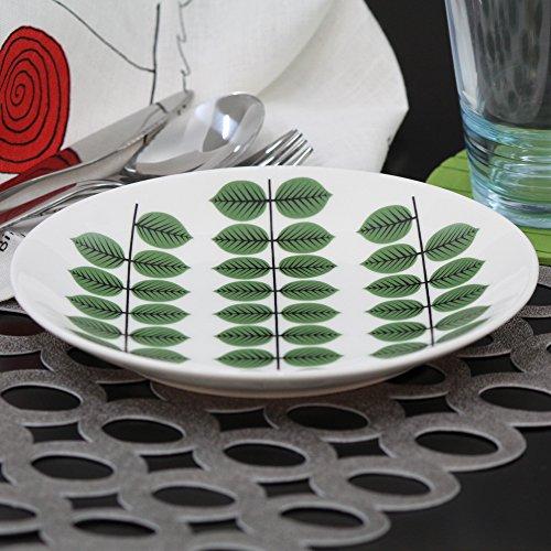 Gustavsberg Bersa ベルサ Plate - 18cm プレート Green/White グリーン/ホワイト KD-GU-GB-18 洋食 食器 インテリア