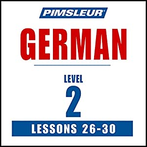 German Level 2 Lessons 26-30 Speech