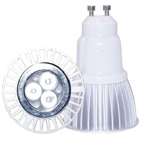 Nu Vue 5 Watt Par16 Led Gu10 Base Narrow Spot Beam In Cool White