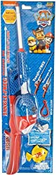 Kids Casters Paw Patrol Telescopic Fishing Pole One Size Blue/Red