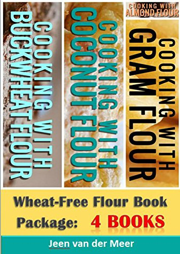 Wheat-Free Flour Book Package:: 4 Books by Jeen van der Meer