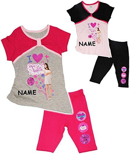 2-tlg-set-t-shirt-kurze-3-4-leggins-disney-violetta-incl-name-grosse-4-jahre-gr-110-fur-madchen-kind