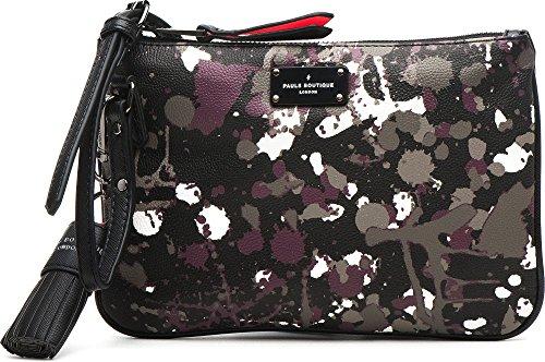 PAUL'S BOUTIQUE, borsa da donna, Borsa a tracolla, Borsa a spalla, Borsetta, Design Astratto, 25 x 17 x 2cm (LxHxP)