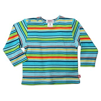 Zutano baby boys infant multi stripe long for Chucky long sleeve striped shirt