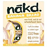 Nakd Wheat & Dairy Free Banana Bread 4 x 30g