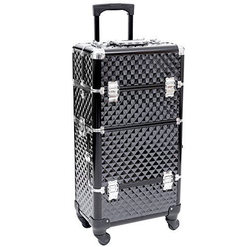 Songmics® Trolley Make up Beauty Case Nail Art Valigia Cofanetto Porta Gioie Smalti Oggetti JHZ04B