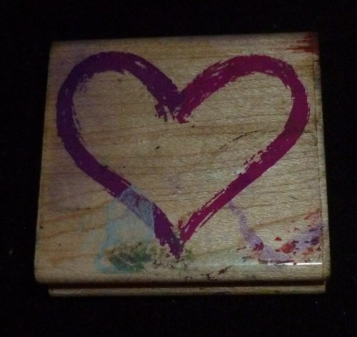 Heart Rubber Stamp - 1