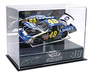 Jimmie Johnson 2009 Championship 1 24th Die Cast Display Case with Platform by Mounted Memories